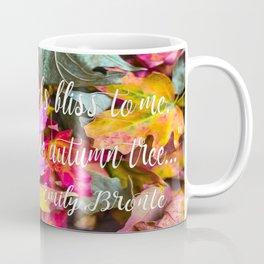 Fall Feels from Emily Bronte Coffee Mug