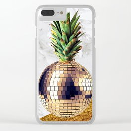 ananas party limited edition Clear iPhone Case