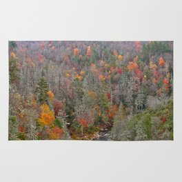 Fall Forest, Vertical Rug