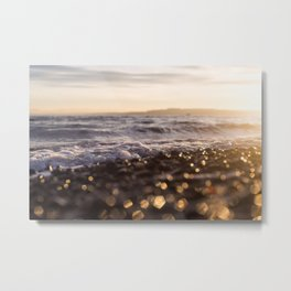 Sunrise Owen Beach, Puget Sound, Washington Metal Print