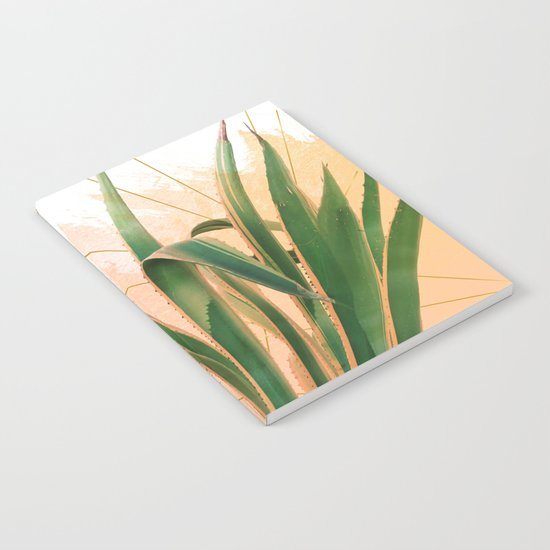 Cactus with geometric Notebook