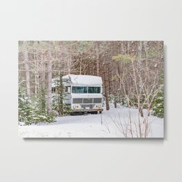 Winter Camping 2 Metal Print