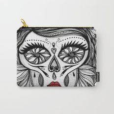 Miss Calavera Carry-All Pouch