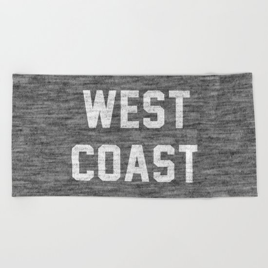 West Coast Beach Towel