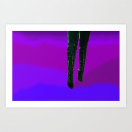 These Boots are Made for Walking Art Print