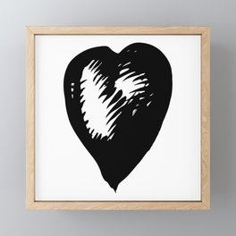 One by one Framed Mini Art Print