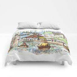 Thailand:  Floating Market Comforters