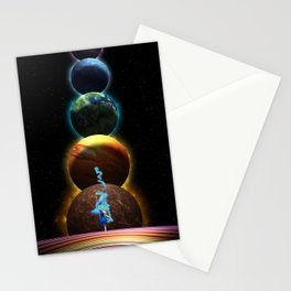 Dance the Light Road Stationery Cards