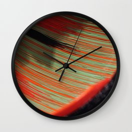 A Painted Universe Wall Clock