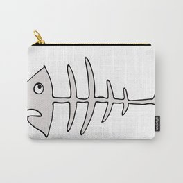 fishbones Carry-All Pouch