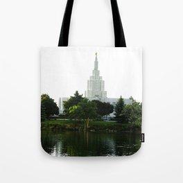 Idaho Falls Temple - Early Morning Tote Bag