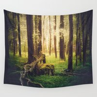 outdoor Wall Tapestries featuring Come to me by HappyMelvin