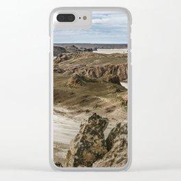Miradores de Darwin, Santa Cruz Argentina Clear iPhone Case