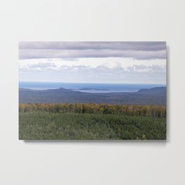 Huron Islands and Huron Mountains Metal Print