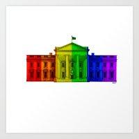 Celebrate Marriage Equality Art Print