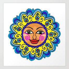 Arizona Sunshine Girl Art Print