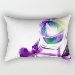 Astro Girl - Slight of Hand Rectangular Pillow