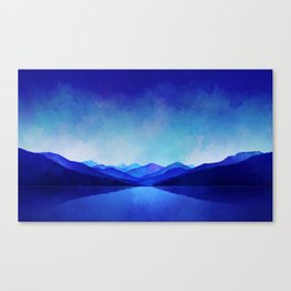 Midnight Blue Canvas Print