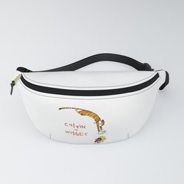 calvin and hobbes funny Fanny Pack