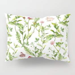 Easter Bunny Garden Pillow Sham