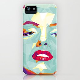 Crystal Marilyn iPhone Case