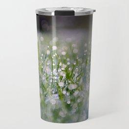 Dew Laden Grass 2 Travel Mug