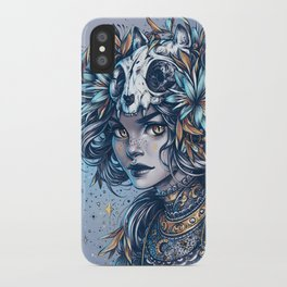 Night Cat Witch iPhone Case