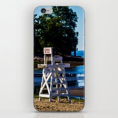 Life guard off duty - enjoy the beach iPhone & iPod Skin