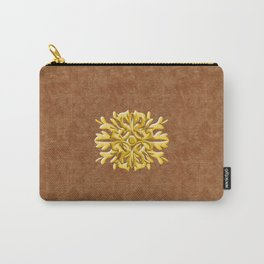 """Marron Doré"" Carry-All Pouch"
