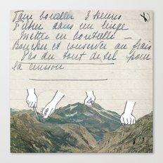 Recette Canvas Print