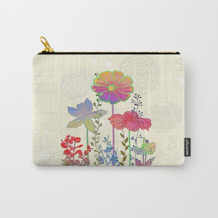 Flower Tales 4 Carry-All Pouch