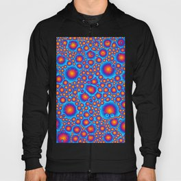 Blue And Orange Bubbles Hoody
