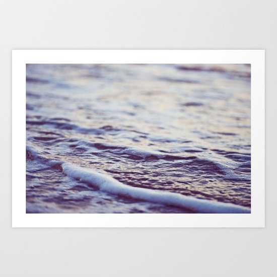 Morning Ocean Waves Art Print