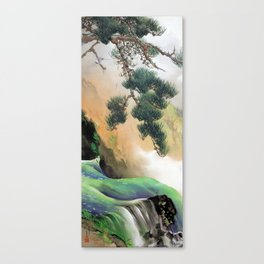 Yamamoto Shunkyo Spring of Mountain Canvas Print