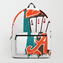 Ace Dad Poker Dad Poker Gifts For Poker Players Backpack