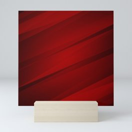 Red Satin Mini Art Print