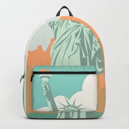 New York City Vintage Poster Backpack