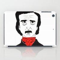 poe iPad Cases featuring Poe by Natália Damião
