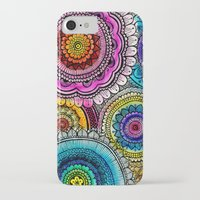 mandala iPhone & iPod Cases featuring mandala by goyye