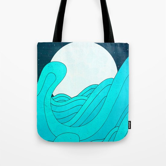 The Moon and the Sea Tote Bag