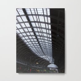 Paddington Roof Pattern Metal Print