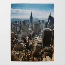 NYC skyline views Poster