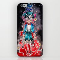 conan iPhone & iPod Skins featuring Little detective by Puckboum