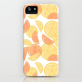 14 Citrus Showers iPhone Case
