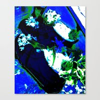 artsy Canvas Prints featuring Artsy. by Bliss