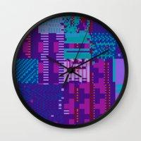 taintedcanvas98 Wall Clock
