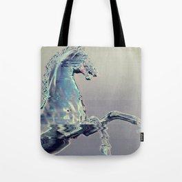 Glitch Horse Tote Bag