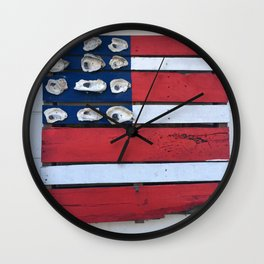 Oyster Flag Wall Clock