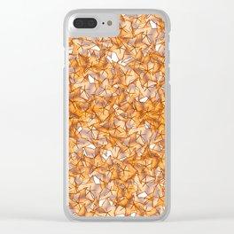 Trompe-l'œil - Starfruit vs. Autumn Clear iPhone Case