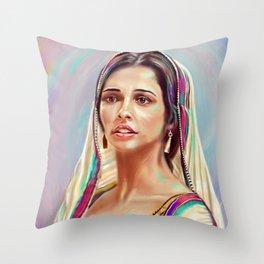 Jasmine Fine Art Painting - Aladdin Throw Pillow